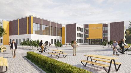 Воронежские власти показали проект новой школы на месте аварийной