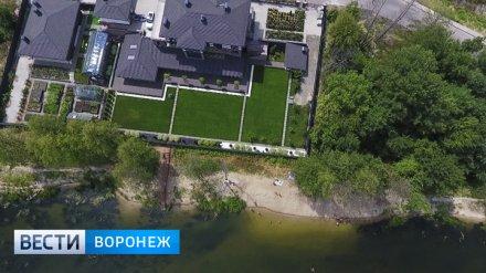 Дачники окончательно отвоевали берег реки в элитном посёлке под Воронежем