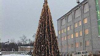 В Железнодорожном районе состоялось открытие новогодней ёлки