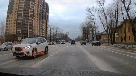 Кроссовер сбил пенсионера на переходе у школы в Воронеже