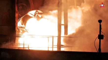 Воронежцам показали эффектное видео испытаний космического двигателя для ракеты «Союз»