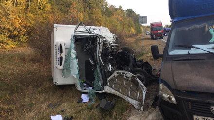В лобовом ДТП на трассе в Воронежской области разбился 25-летний водитель