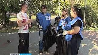 Городу не хватает тысячи дворников - на уборку выходят волонтеры