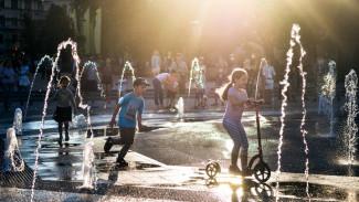 Единственные в Воронеже. Как устроены «сухие фонтаны» и бьют ли они током
