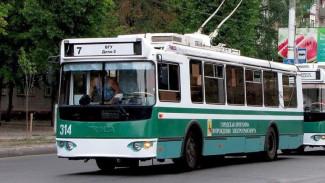 На улицы Воронежа спустя два месяца вернутся троллейбусы