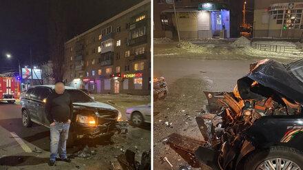 Пьяный экс-сотрудник ГИБДД устроил массовое ДТП в Воронеже