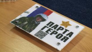 В воронежской школе в память о лётчике Романе Филипове появилась «Парта Героя»
