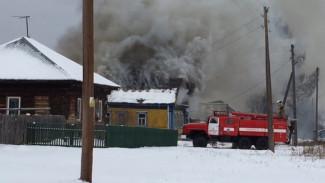 В Воронежской области при пожаре погиб годовалый мальчик