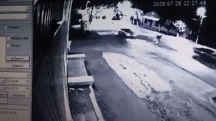 Появилось видео смертельного наезда на двух женщин в Воронежской области