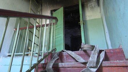 В Воронеже из горящей девятиэтажки эвакуировали 11 человек: есть погибший