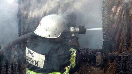 При пожаре в частном доме в Воронежской области пострадал 78-летний мужчина