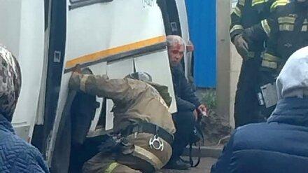 Три человека пострадали в ДТП с автобусом в Воронеже