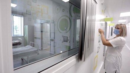Глава облздрава назвал число пациентов в ковидных стационарах Воронежской области