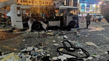 НАК рассмотрит несколько версий взрыва маршрутки в центре Воронежа