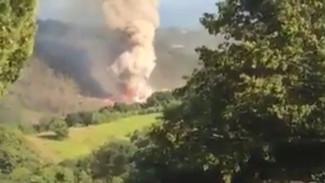 При взрыве на военном складе в Абхазии пострадали два туриста из Воронежской области