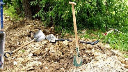Под Воронежем 21-летнего парня насмерть засыпало землёй