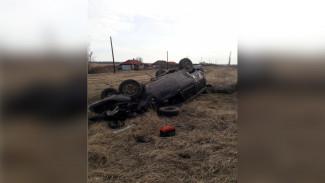 В Воронежской области пьяный водитель съехал в кювет и оказался в больнице