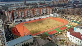 Воронежцам показали обновлённый стадион «Буран» с высоты птичьего полёта