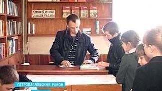 В селе Пески Петропавловского района работает единственный в области мужчина-библиотекарь