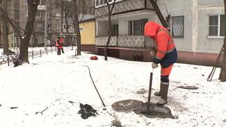 В Воронеже для устранения засора канализации пришлось прочистить 12 колодцев
