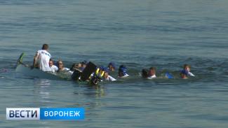 Во время регаты на День города лодка воронежских «физкультурников» затонула на старте