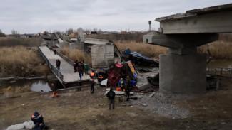 В Воронежской области восстановят мост, при обрушении которого год назад погиб рабочий