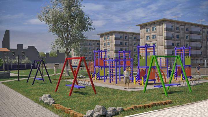 Новый парк появится в микрорайоне Берёзовая Роща в Воронеже в октябре