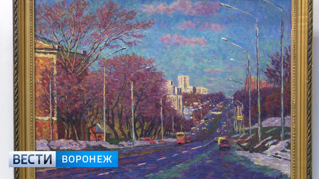 В Воронеже открылась выставка мастера пейзажной живописи Владимира Щедрина