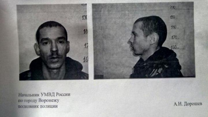 В Воронеже заподозренный в краже мужчина ранил двух полицейских