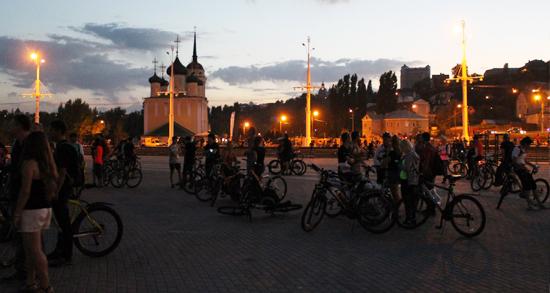 Организаторы назвали дату проведения восьмой Велоночи в Воронеже