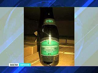 13 тысяч бутылок контрафактного игристого вина чуть не попали на столы воронежцев