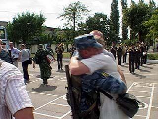 149 воронежских милиционеров вернулись из Чечни без потерь