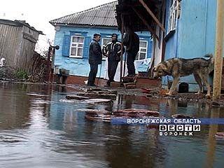 15 домов подтоплены в Борисоглебском районе