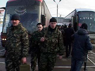 165 воронежских милиционеров вернулись из Чечни