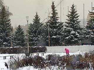 17 ноября столбик термометра опустится до 10 градусов мороза
