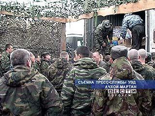 170 воронежских милиционеров получили гуманитарную помощь