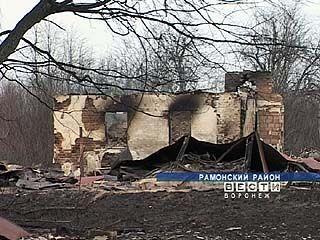 19 домов сгорели дотла в Рамонском районе
