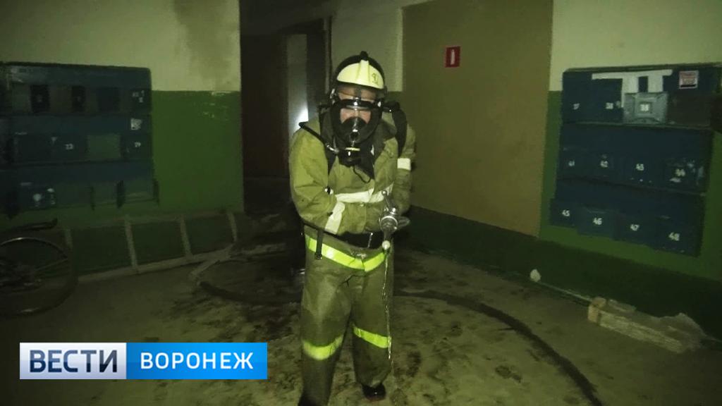 В Воронежской области из-за невыключенного обогревателя загорелось общежитие