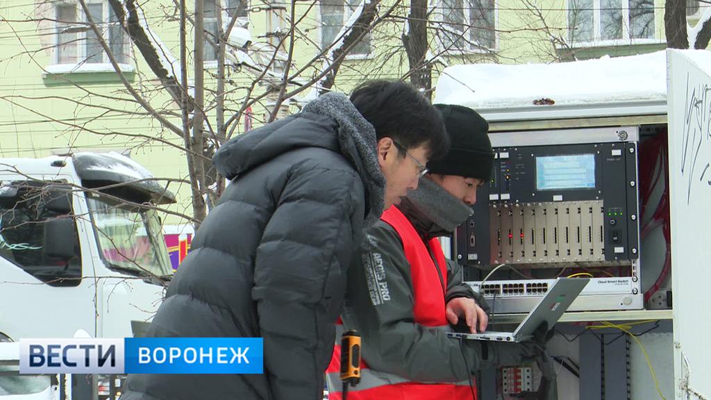 В Воронеже снег помешал японским специалистам настраивать «умные» светофоры