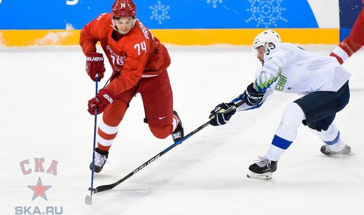 Игравший за воронежский «Буран» хоккеист стал чемпионом Олимпиады в Пхенчане