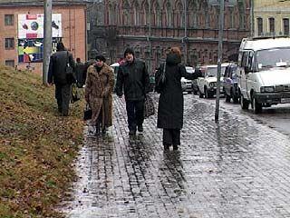200 воронежцев пострадали от гололеда за полдня