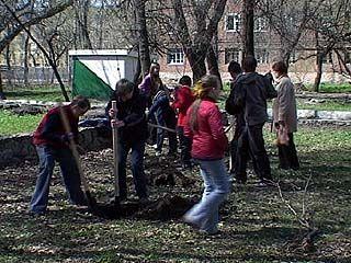 """250 школьников участвовали в акции """"Марш парков"""""""