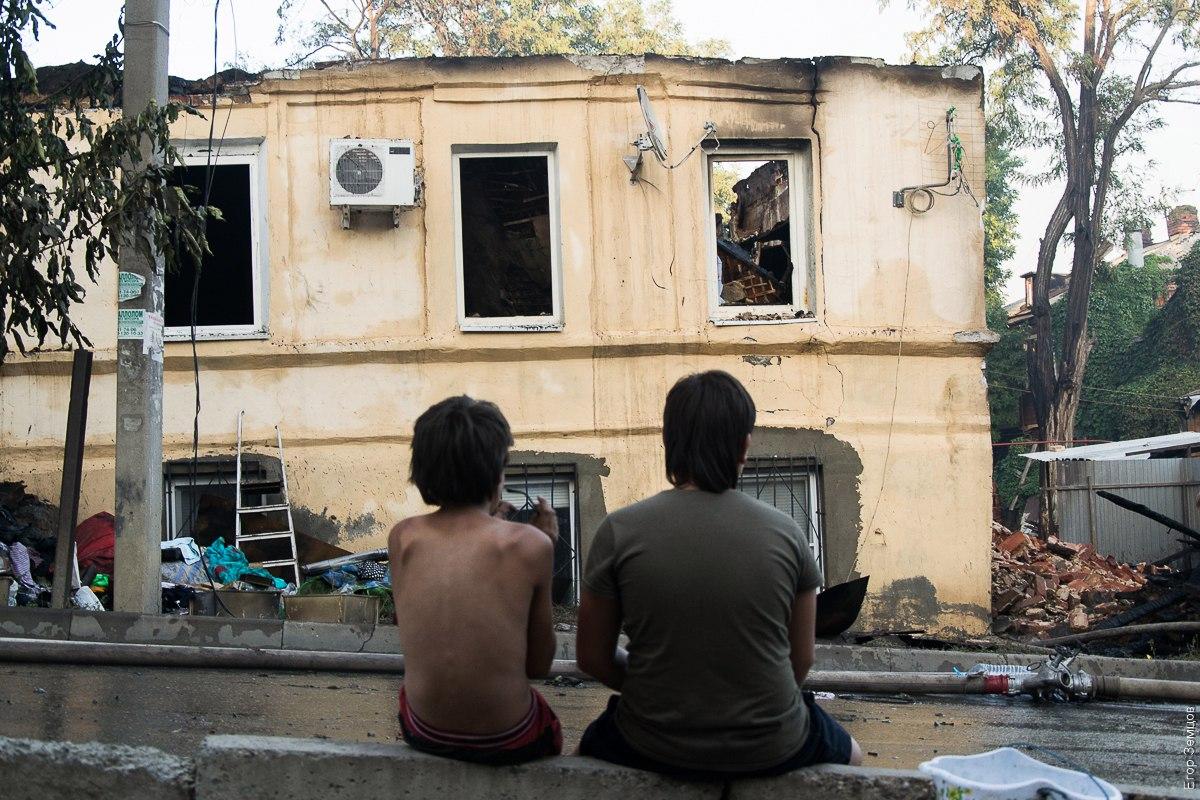 Воронежцы начали сбор помощи для пострадавших во время страшного пожара в Ростове-на-Дону