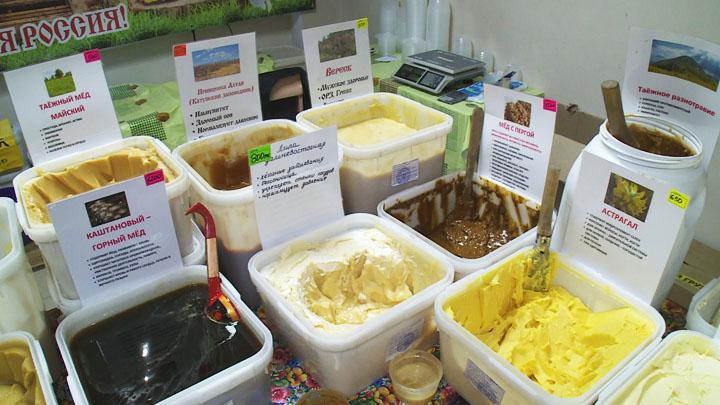 В Воронеже появилась возможность купить разные сорта алтайского мёда