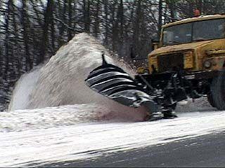 30 лет воронежские дорожники не видели столько снега