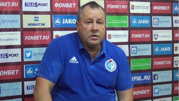 Тренер воронежского «Факела» о победе над «Балтикой»: «Отступать нам было некуда»