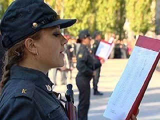330 курсантов приняли присягу в Воронежском институте МВД