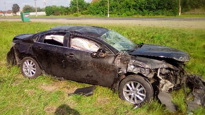В Воронежской области в ДТП с двумя авто пострадали шесть человек