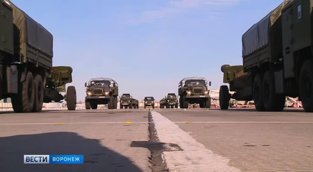 Как в Воронеже готовят военную технику к Параду Победы