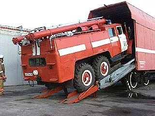 4 новых пожарных автомобиля появятся в Воронеже